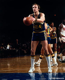 Rick Barry free throw