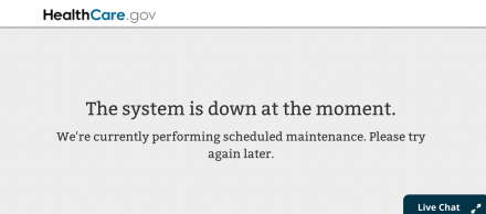 System is down...